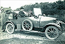 1913 Calthorpe 10HP Two-Seater with a Tailby Ambulance Trailer