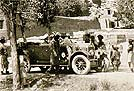 1926 Wolseley 16'35 AC8 Tourer at Bamiyan Buddhas, Afganistan