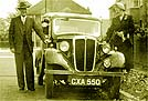 1936 Morris Eight Saloon