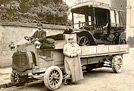 1907 Darracq Landaulette on a cca 1908 De Dion Bouton Lorry