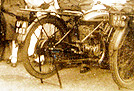 1927 Triumph Model W Motorcycle