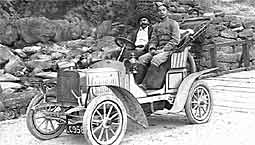 1907 Laurin & Klement Type A in Tibet
