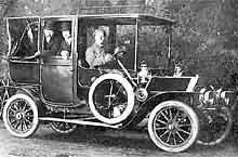 1910 Belsize Landaulet Taxi in Oxford