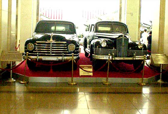 'Hong Qi' cars at the Beijing Military Museum