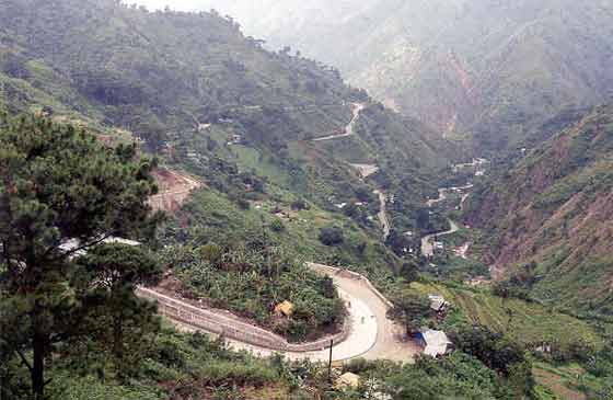 The Kennon Road 'ZigZag' today
